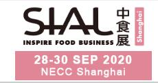 Asia Largest Food Exhibition-SIAL Postponed to September